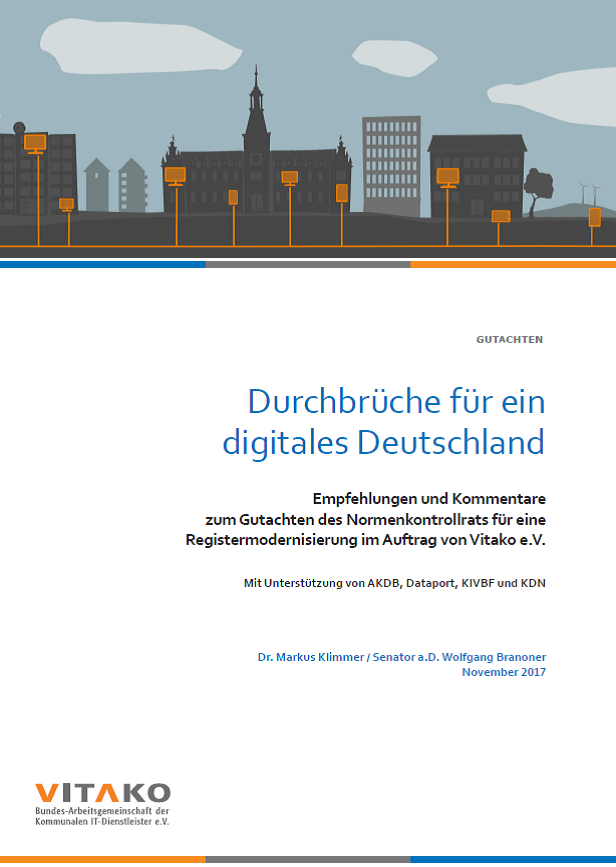 New Vitako-Study: Advancing digitalization in Germany