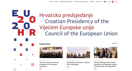 Official website of Croatian Presidency of the Council of the European Union developed by APIS IT