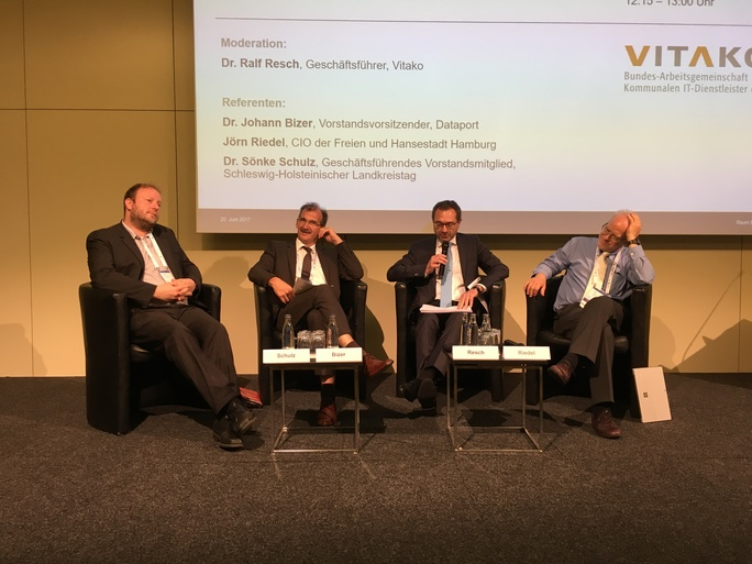 Vitako at the German national congress for the future of state and governance