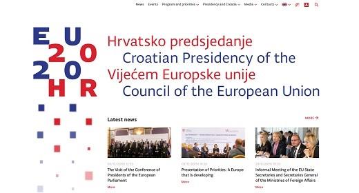 Croatian Presidency Website